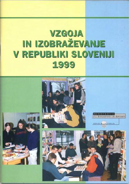 Brosura Vzgoja in izobraevanje v RS 1999