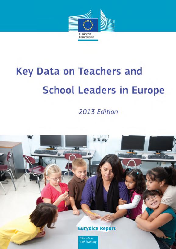 Key Data on Teachers and School Leaders in Europe naslovnica