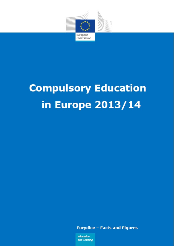 Compulsory Education in Europe 2013-2014 front