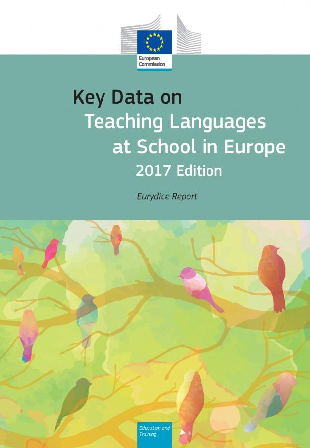Pomembni podatki o poučevanju jezikov v šoli v Evropi 2017
