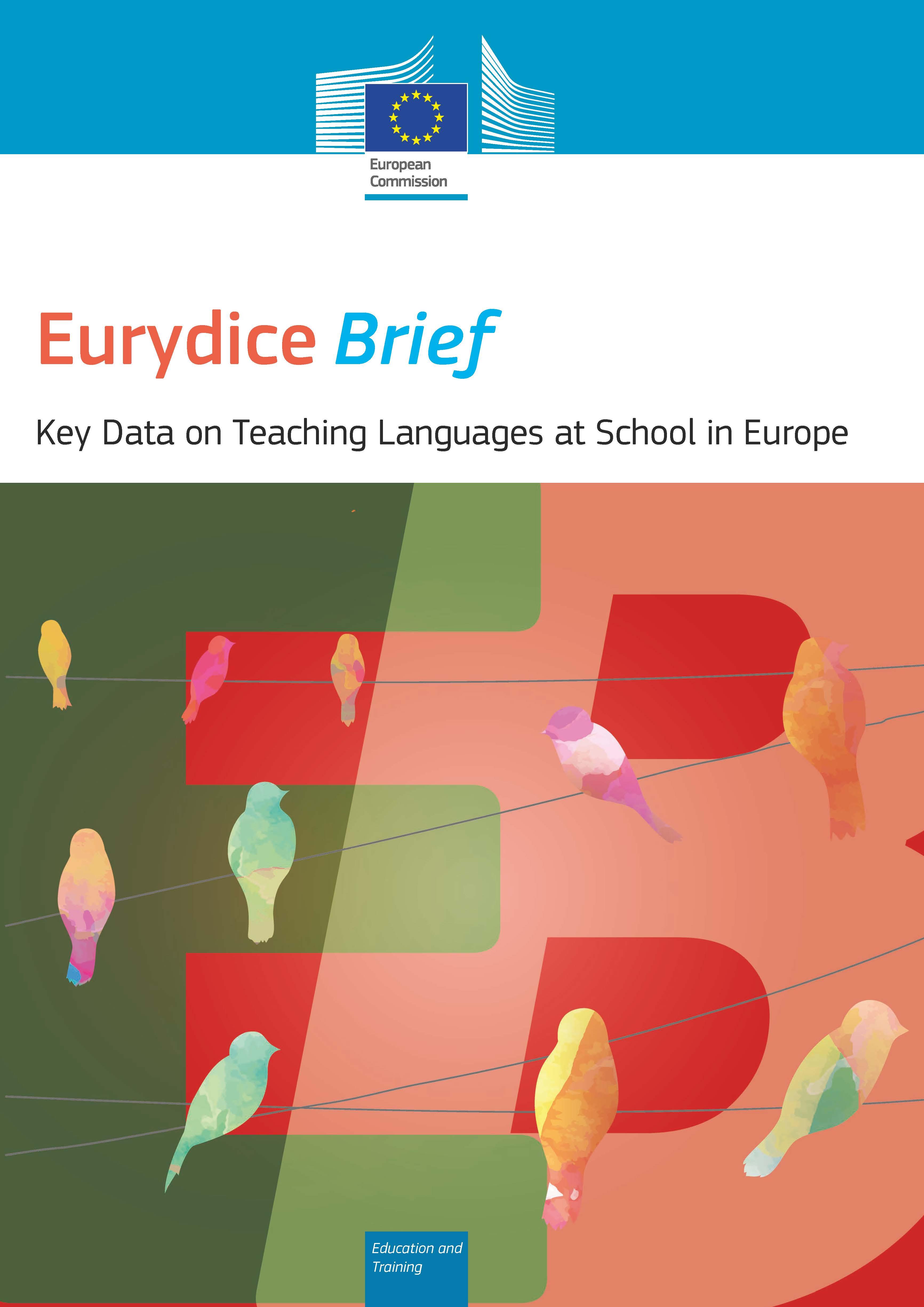 Prelet: Pomembni podatki o poučevanju jezikov v šoli v Evropi 2017