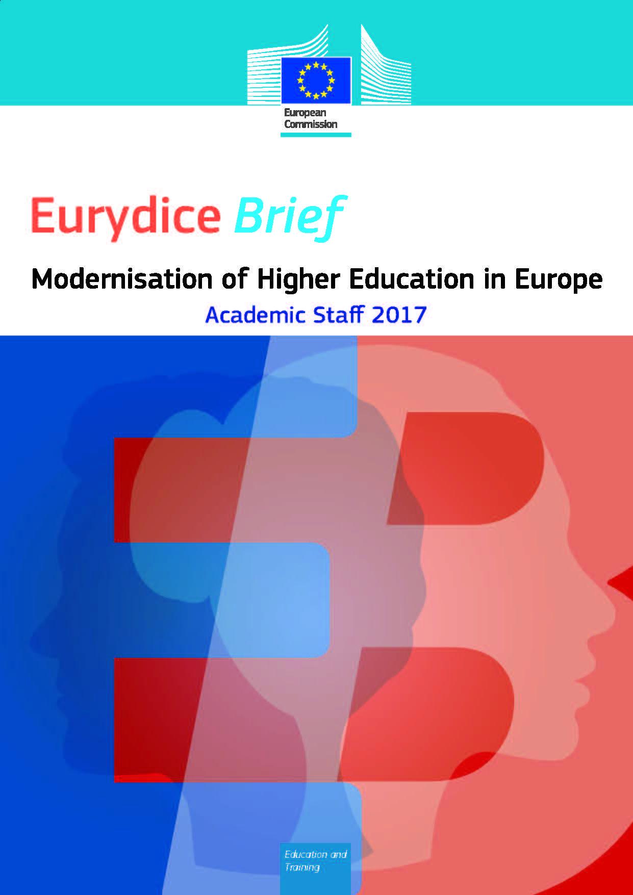 Prelet: Posodabljanje visokega šolstva v Evropi: Akademsko osebje 2017
