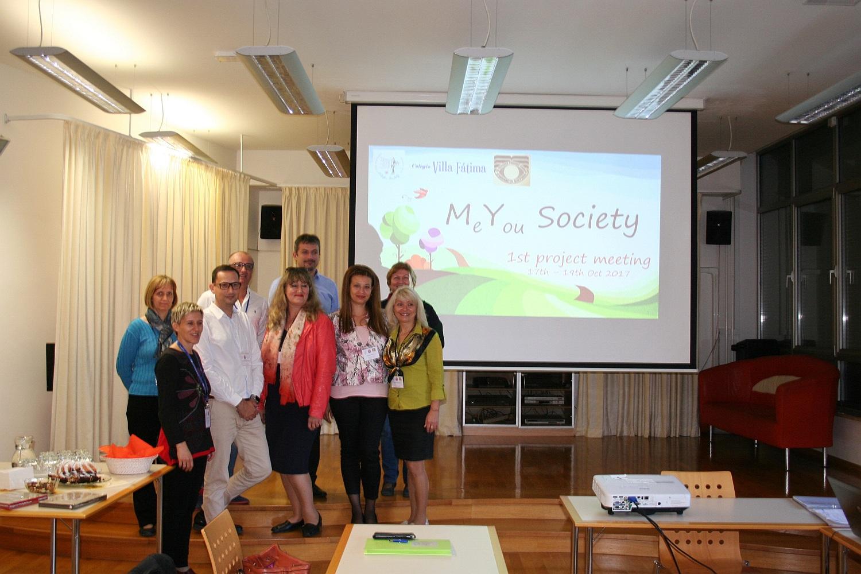 Zagon Erasmus+ projekta MeYou Society
