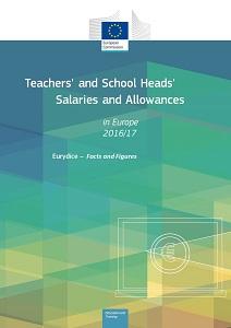 Plače učiteljev in ravnateljev v Evropi 2016/17