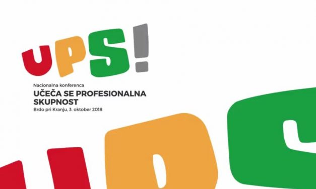 UPS! Konferenca učeča se profesionalna skupnost