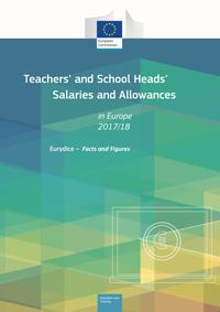 Plače učiteljev in ravnateljev v Evropi 2017/18
