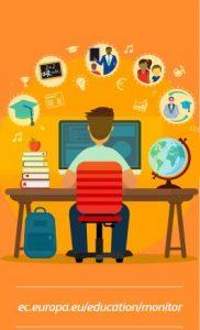 Education and training monitor 2020 naslovna