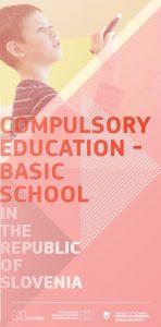 Cover compulsory education - basic school leaflet