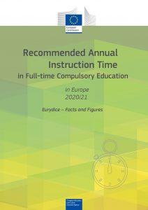 naslovnica Instruction time 2020/21