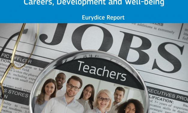 Poudarki poročila Eurydice Učitelji v Evropi: Kariera, razvoj in dobrobit (2021)